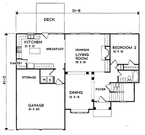 house plans with sunken living room sunken living room 2933kd 2nd floor master suite cad available loft pdf traditional