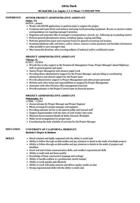 sample administrative assistant resume objective qualifications