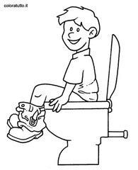 disegno bagno bagno 2 disegni per bambini da colorare
