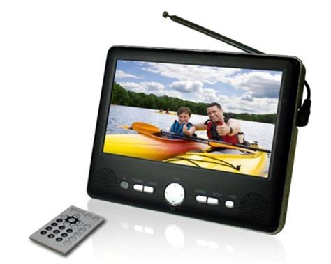 Tv Tabung 7 Inch battery powered color tv
