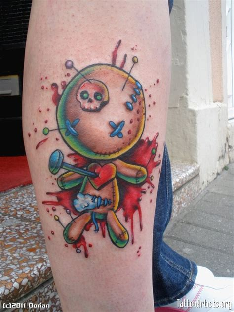 voodoo doll tattoo 18 best voodoo doll tattoos images on