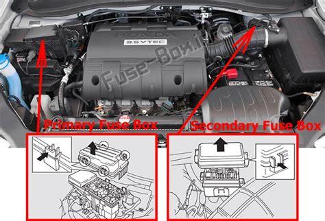 Fuse Box Diagram Gt Honda Ridgeline 2006 2014