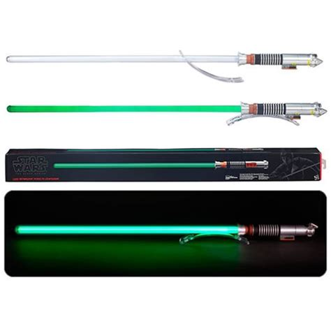 wars lightsaber replica wars luke skywalker fx lightsaber prop replica