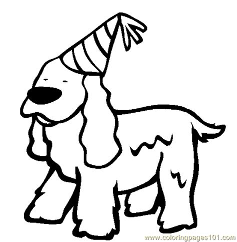 free coloring pages of lps cocker spaniel