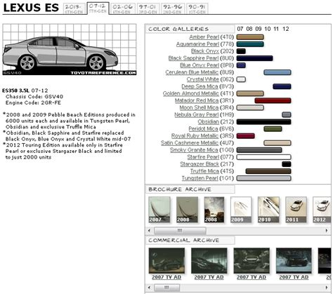 lexus blue color code lexus es paint codes media archive clublexus lexus