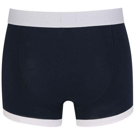 bench underwear for men bench men s 2 pack boxers navy mens underwear zavvi com