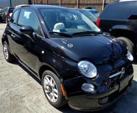 Fiat 500 Cheap Cheap Fiat 500 Black For Sale 7000 Fixer