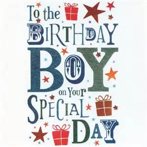 birthday boy birthday card karenza paperie