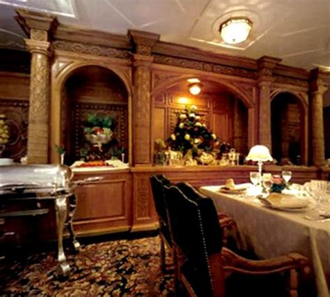 titanic dining room titanic screen used dining room prop signed book uacc coa dvd frame ebay