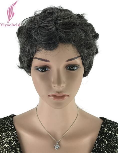 Black Hairstyles For Seniors by Wig Hairstyles For Senior Black Wigs For