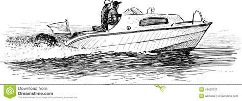 how to draw a rescue boat motor boat drawing gallery