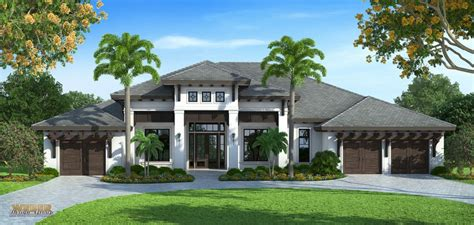 west indies house plans naples architect designs west indies spec home