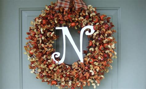 Handmade Fall Wreaths - 15 best handmade fall wreaths pretty my