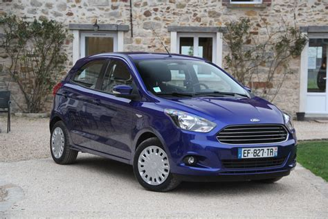 Ford 10k by Essai Vid 233 O Ford Ka Essential Une Addition 224 10 K