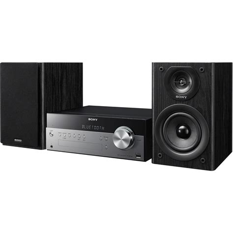 Musik System by Sony Cmt Sbt100 Micro System With Bluetooth Cmt