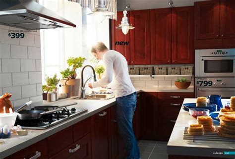 ikea cherrywood kitchen interior design ideas