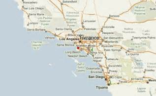 map of torrance california torrance location guide