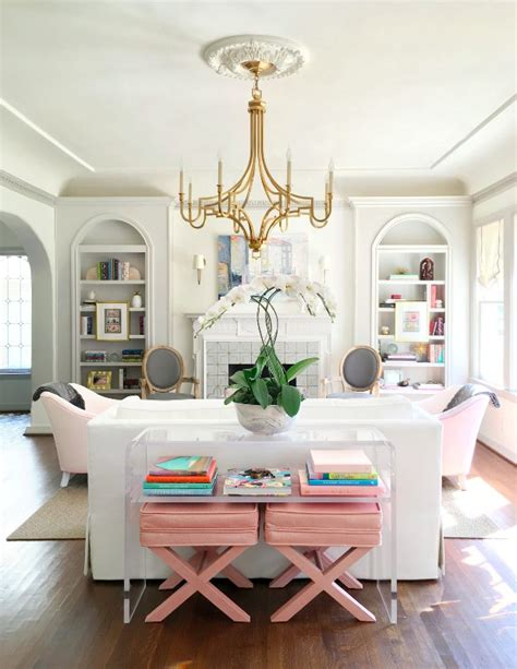 Living Room Club Age Restriction Dreamy Interiors With Millennial Pink
