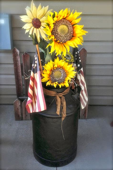 Decorating Ideas Milk Cans Diy Why Spend More Decorating Milk Cans