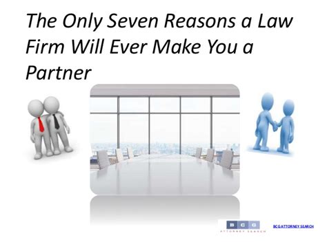 7 Reasons Vires Rule by The Only Seven Reasons A Firm Will Make You A Partner