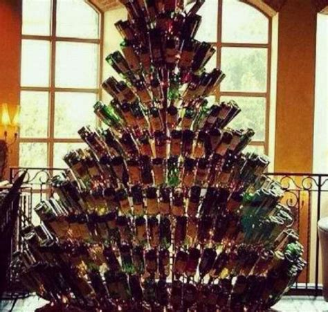 a wine christmas tree iwantone pinterest