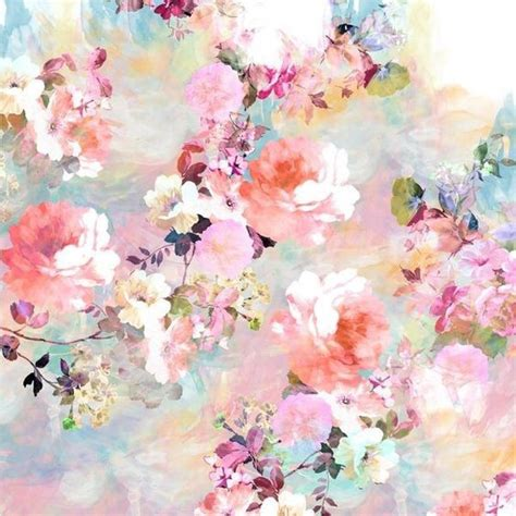 aesthetic wallpaper pastel aesthetic colorful floral floral print flowers pastel