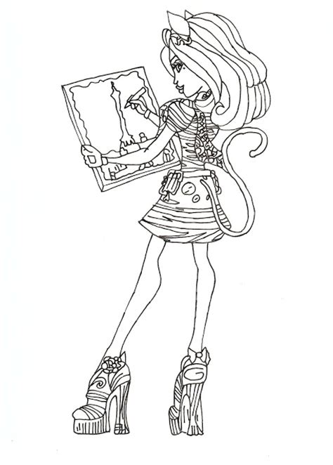 all monster high dolls coloring pages all about monster high dolls monster high free printable