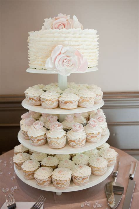 Wedding Cake With Cupcakes cupcake wedding cakes mon cheri bridals