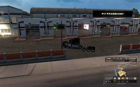 Rj Garage by Rj Trans Garage Edit V1 0 Mod Truck Simulator 2 Mods