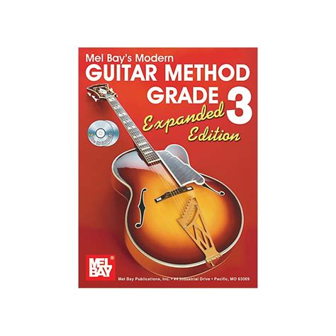 decidedly with by the bay volume 3 books mel bay modern guitar method expanded edition vol 3 book