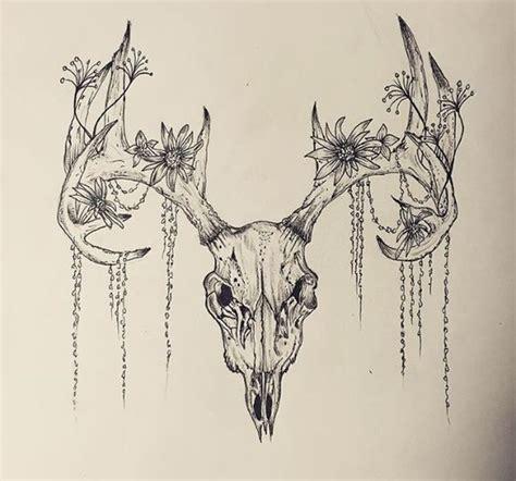 deer skull tattoos designs 27 deer skull designs ideas