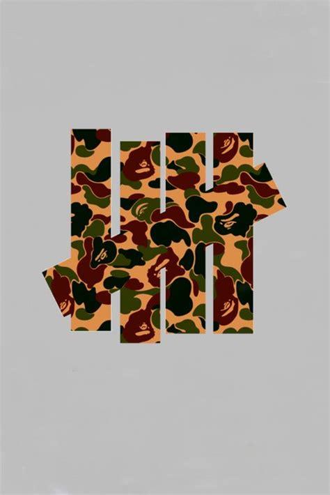 Kaos Tshirt Baju A Bathing Ape Bape Black Premium bape x undefeated original logo designed by ed for