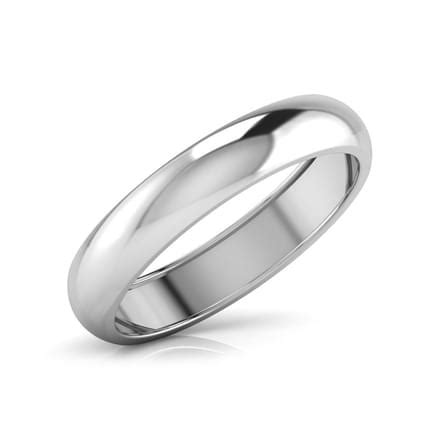 platinum band for him jewellery india