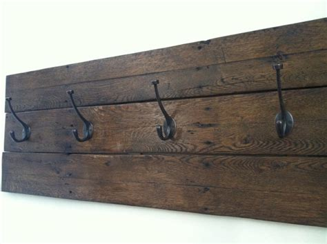 reclaimed wood wall coat rack reclaimed wood coat rack