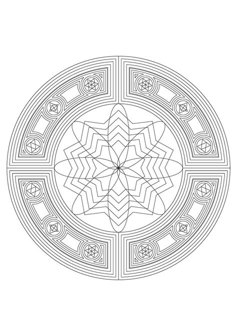 mandala coloring pages jumbo mandalas contain elegant patterns that take great care and