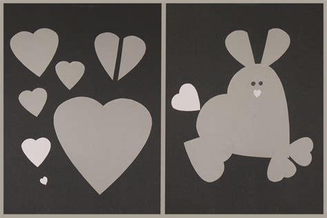 Comment Faire Les Coeurs by Animaux Avec Des Cœurs Bricolage Valentin