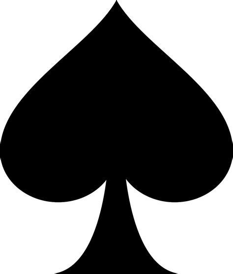 card spade template spade vector free psd vector icons
