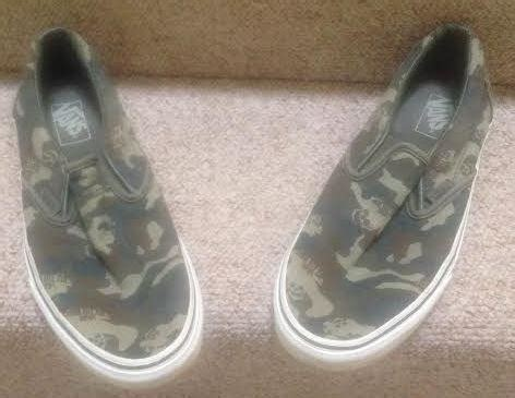 Vans The Wall Kaos 1 vans classic the wall camo slip on shoes mens 9 us or womens 10 1 2 us saanich