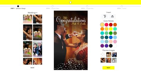 Snapchat Makes It Easier To Design Geofilters With Customizable Templates Venturebeat Free Snapchat Geofilter Template