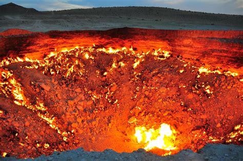 horror   door  hell  turkmenistan