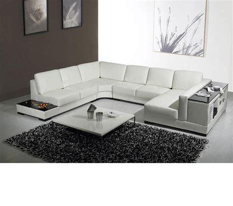 Chaise Lounge Leather Furniture Dreamfurniture Com Divani Casa T75 Modern Leather