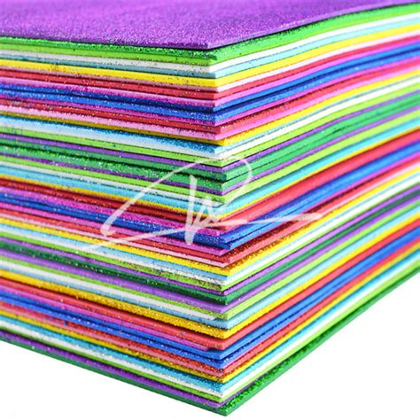foam sheet crafts for fully stock glitter powder foam glitter foam sheet