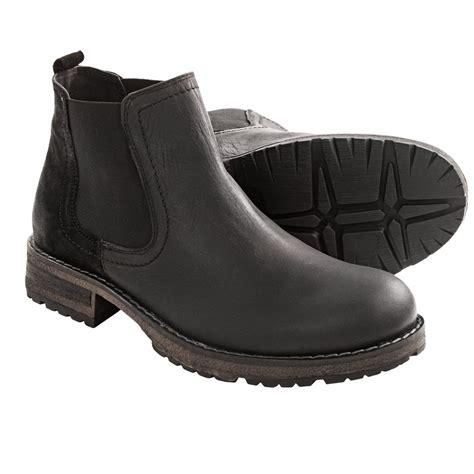 steve madden chelsea boots steve madden stills chelsea boots leather for in black