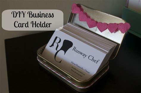 how to make business card holder diy business card holder tutorial