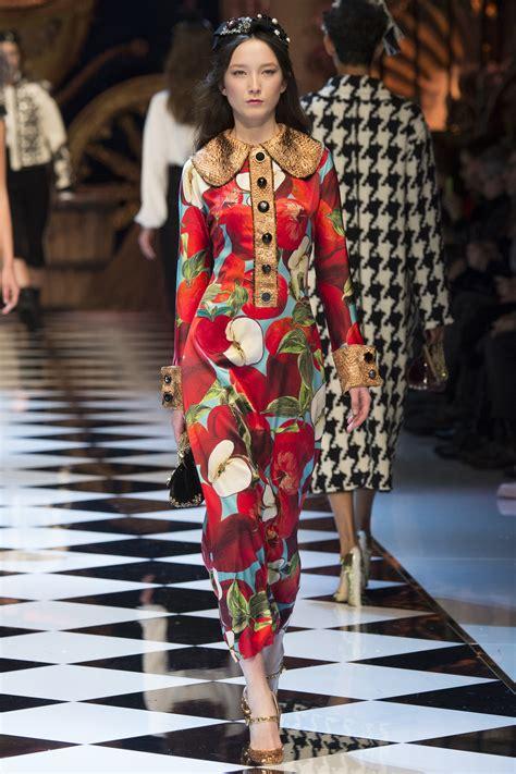 Dolce Gabbana Dolce Gabbana dolce gabbana dreamy inspired fall winter 2016 17