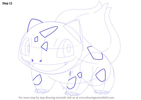 learn   draw bulbasaur  pokemon pokemon step  step drawing tutorials