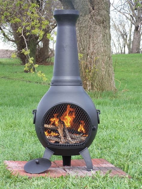 7 best images about The Blue Rooster Prairie Chiminea on