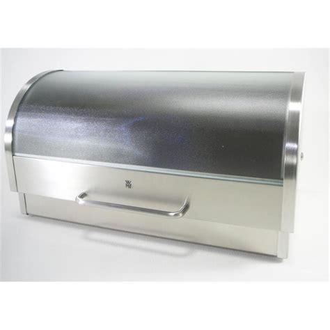 brotbox wmf wmf brotkasten edelstahl u glas brotbox neu ovp ebay