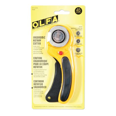 Rotary Cutter Olfa 45mm olfa deluxe 45mm rotary cutter estore