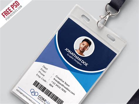 office identity card templates corporate office identity card epicpxls